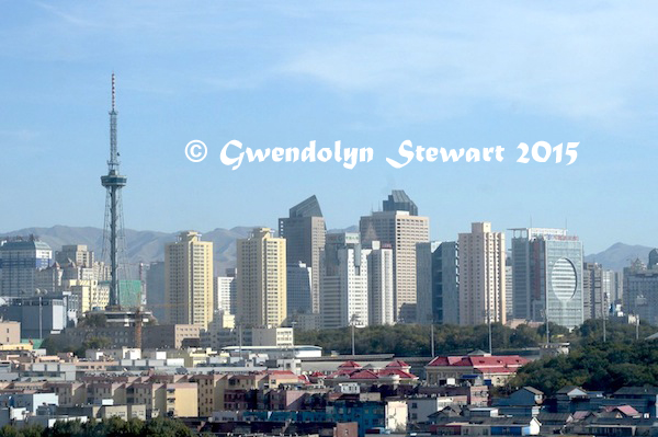 Urumqi, Xinjiang, China, Towers Photographed by Gwendolyn Stewart, c. 2015; All Rights Reserved